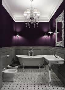 Alfa img showing gt gray and purple bathrooms