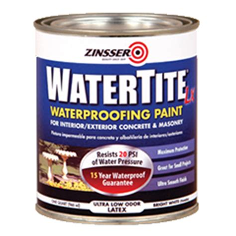 Zinsser 174 Watertite 174 Lx Mold Mildew Proof Paint Product Page