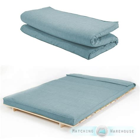 double futon mattress cover fabric double size futon mattress folding foam filled
