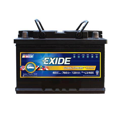 exide premium extreme lx auto battery bjs wholesale club