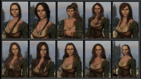 how to change an npc hair in skyrim the hairstyler at skyrim nexus mods and community