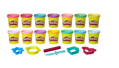 play doh colors play doh sparkle bright color pack 50