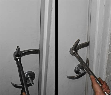 forcible entry inward swinging door halligan by the numbers ironsandladders com