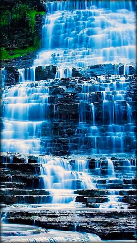 waterfall  wallpaper android apps  google play