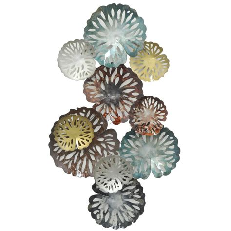 three hands home decor three hands metal wall decor 11801 the home depot