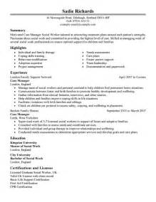 Social Work Management Plan Template by Best Manager Resume Exle Livecareer