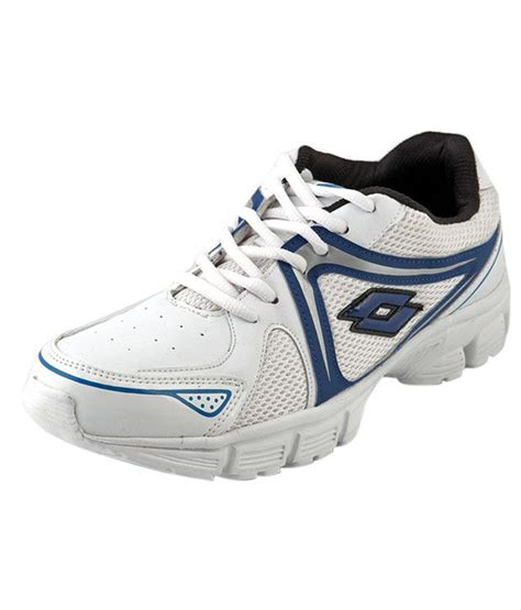 sports shoes offer lotto roger white blue sports shoes offer price in india