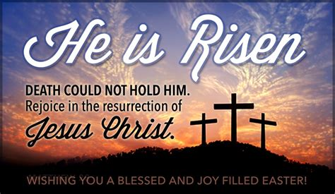 bible quotes for easter sunday he is risen ecard free easter cards