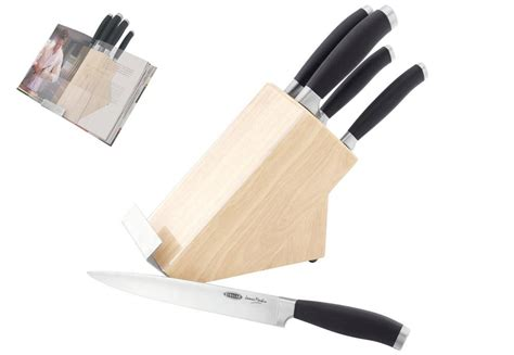 james martin kitchen knives stellar knives james martin 5 piece knife set in wooden block