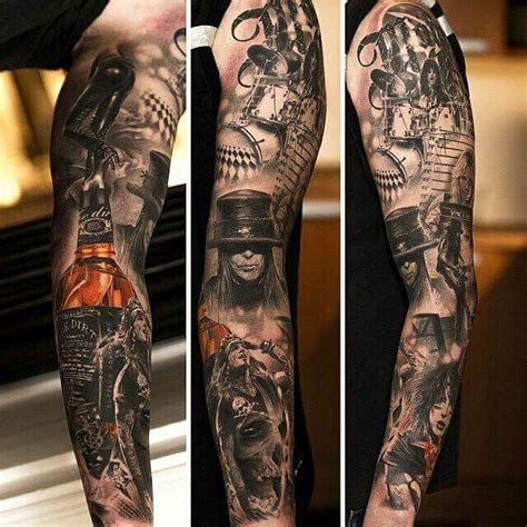 motley crue tattoos motley crue sleeve tattoos i sleeve