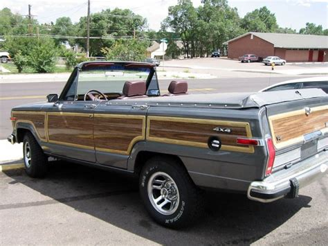 custom convertible jeep convertible jeep wagoneer dream whip pinterest
