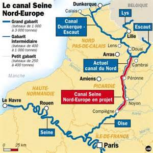 Table Football Le Pharaonique Projet Du Canal Seine Nord Lanc 233