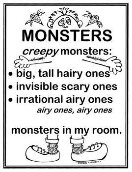 """Monster Spray"" Zip File, Mp3 Song to Help Children"