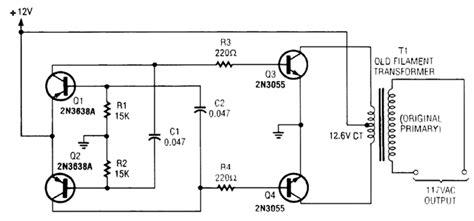 fungsi transistor 2n3055 pada inverter basis transistor 2n3055 28 images simple 100 watt lifier circuit using 2n3055 transistors