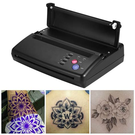 thermal tattoo printer stencil transfer flash copier thermal hectograph