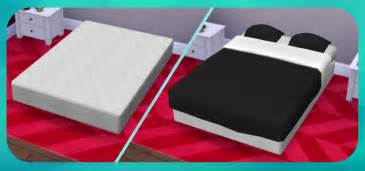 Bed Frame For Mattress And Box The Sims 4 Funboysims Box Bed Frame For