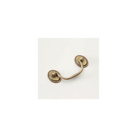 cabinet hardware bail pull antique brass oval bail pull knobs n knockers