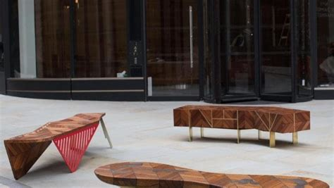 furniture design competition london benches