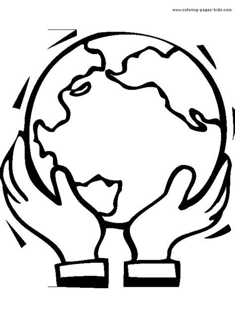 Enviroment Color Pages Coloring Pages For Kids Free Around The World Coloring Pages