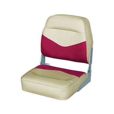 red boat seat covers wise seating boat seat dark red khaki west marine