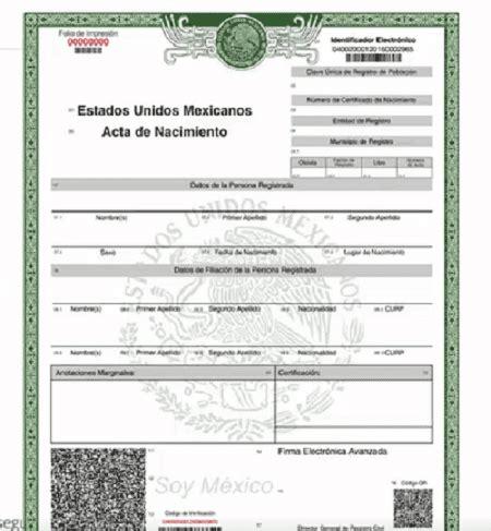 puedo obtener una copia de un certificado de nacimiento ya puedes imprimir tu acta de nacimiento desde tu casa