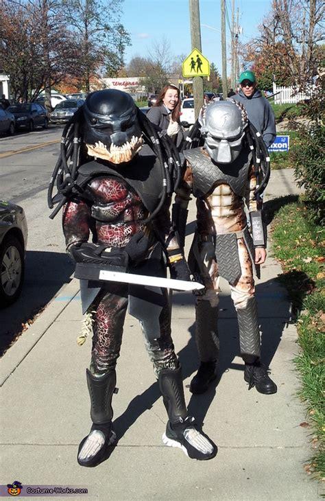 predators costume step  step guide