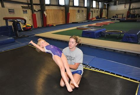 gym couch excel gymnastics hopes fundraiser flips its fortunes