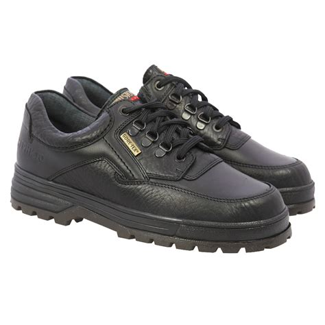 mens mephisto barracuda black walking shoe