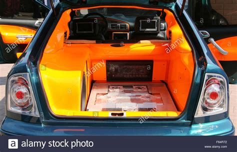 powerful style car audio system stock photo royalty free