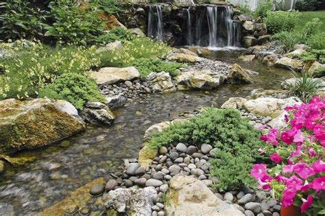 build a backyard waterfall and stream fun beautiful and safe for kids think pondless