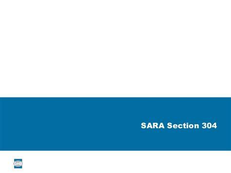 epcra section 304 michael reece ghd understanding epcra reporting tier i