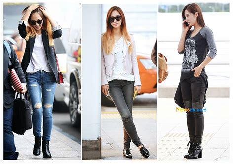 Fashion Wanita Yuri Overal 9 gaya fashionable ala member snsd facetofeet