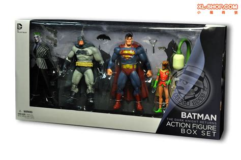 dark knight returns collectors dc direct dark knight returns collectors box set 7 action figure box of 4
