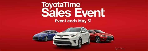 Toyota Sale Event Toyota Time Sales Event In Columbia Tn