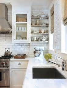 White Tile Backsplash Kitchen by Subway Tile Backsplash Design Ideas