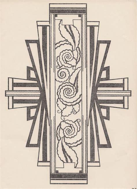 design art deco art deco design design motifs patterns pinterest