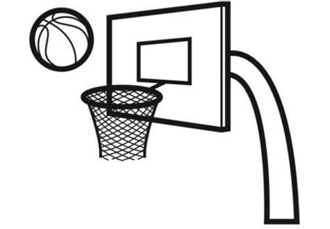 basketballkorb klein kostenlose malvorlage sport basketballkorb zum ausmalen