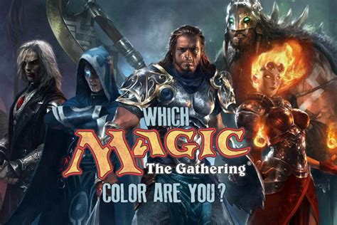 magic the gathering color quiz which magic the gathering color are you quiz zimbio