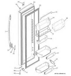 refrigerator parts ge refrigerator parts door