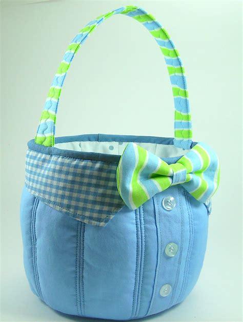 pattern sewing basket easter basket sewing pattern pdf tutorial boy s bow