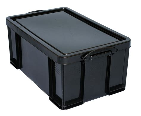 64 plastic storage really useful storage box plastic recycled robust really