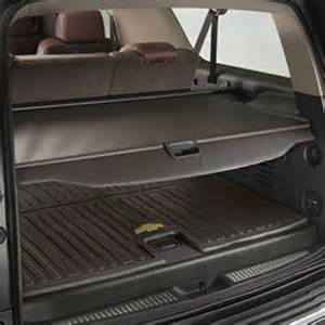 Rear Cargo Mat For Chevy Tahoe 2015 Tahoe Floor Mats Premium All Weather Front Cocoa W