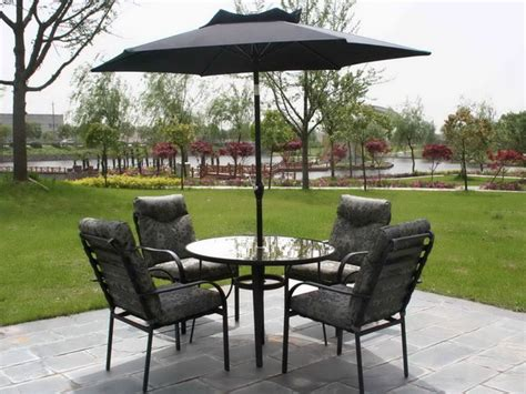 Umbrella Patio Set Choosing The Best Outdoor Patio Set With Umbrella For Your Home Furniture
