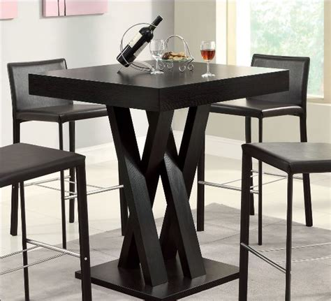 high top table bar height tables dining room furniture breakfast nook ebay