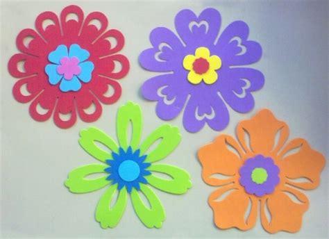 flores de foamy o goma eva planas o con termoformado fino flores de goma eva buscar con google plantillas o