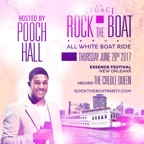 yacht boat ride in new orleans rock the boat 2017 the 5th annual all white boat ride