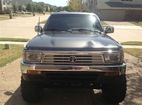 airbag deployment 1994 toyota 4runner transmission control purchase used 1994 toyota 4runner v 6 auto 4x4 fully rebuilt in frisco texas united states