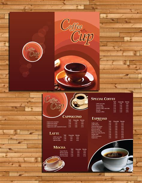 design a coffee shop menu layout from scratch with photoshop and indesign coffee menu design by glympsea on deviantart