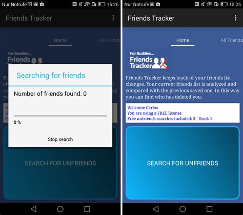 Android Who Deleted Me by Who Deleted Me On Friends Tracker Android App