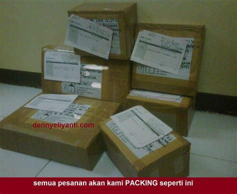 Packing Tambahan Keamanan cara pemesanan barang packaging denny eliyanti